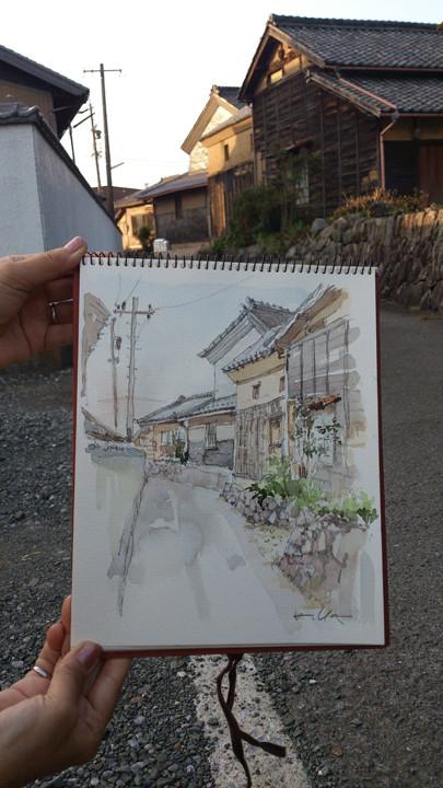 西念寺辺り