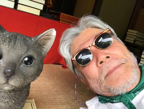 漱石の家、猫と