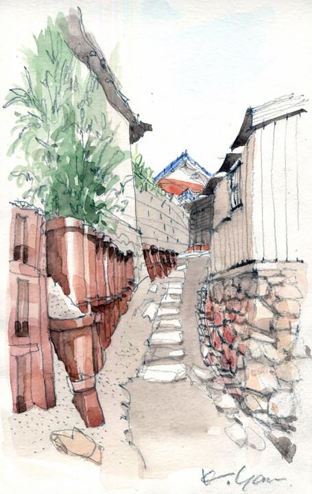 sketch Tokoname