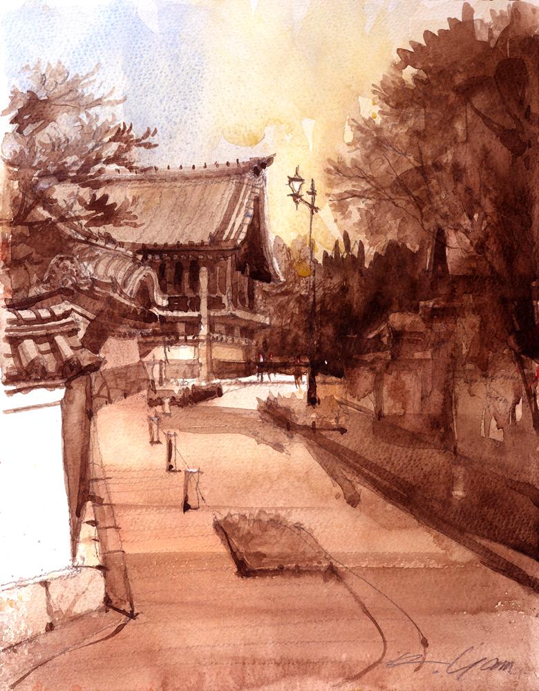 法持寺、名古屋
