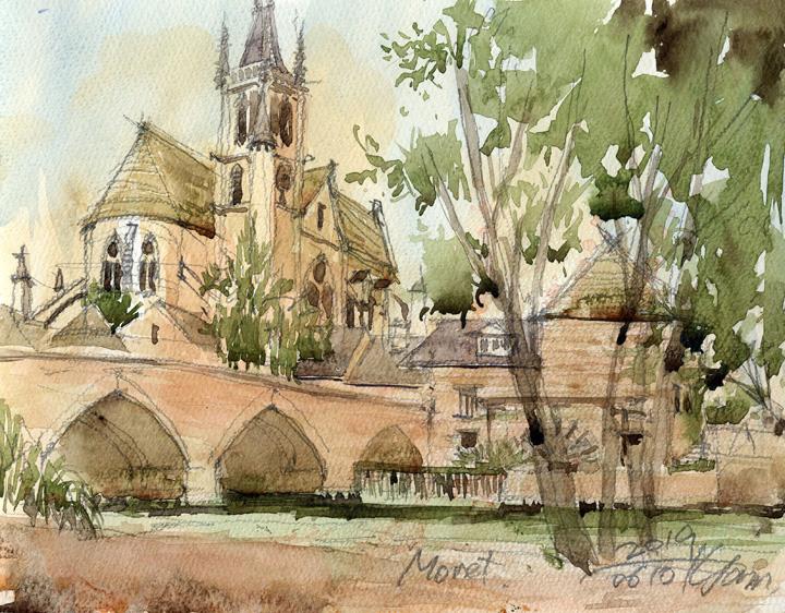 Moret, France