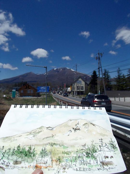 Mt.Asama in karuizawa