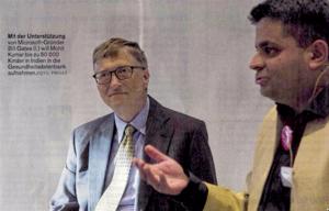Bill Gates hilft Rostocker Forscher