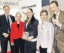 Mobiler Gesundheitsmanager von AOK ausgezeichnet
