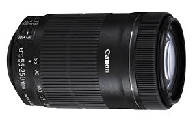 Canon 55-250mm f/4-5,6 IS