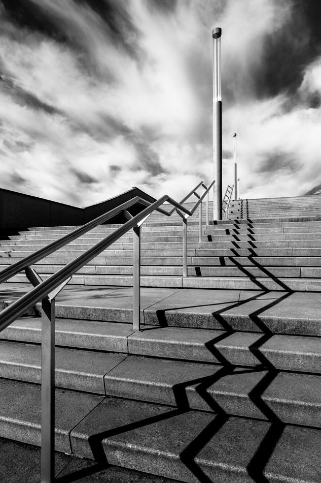 Belval escalier Dexia