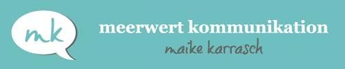 Maike Karrasch - Meerwert Kommunikation