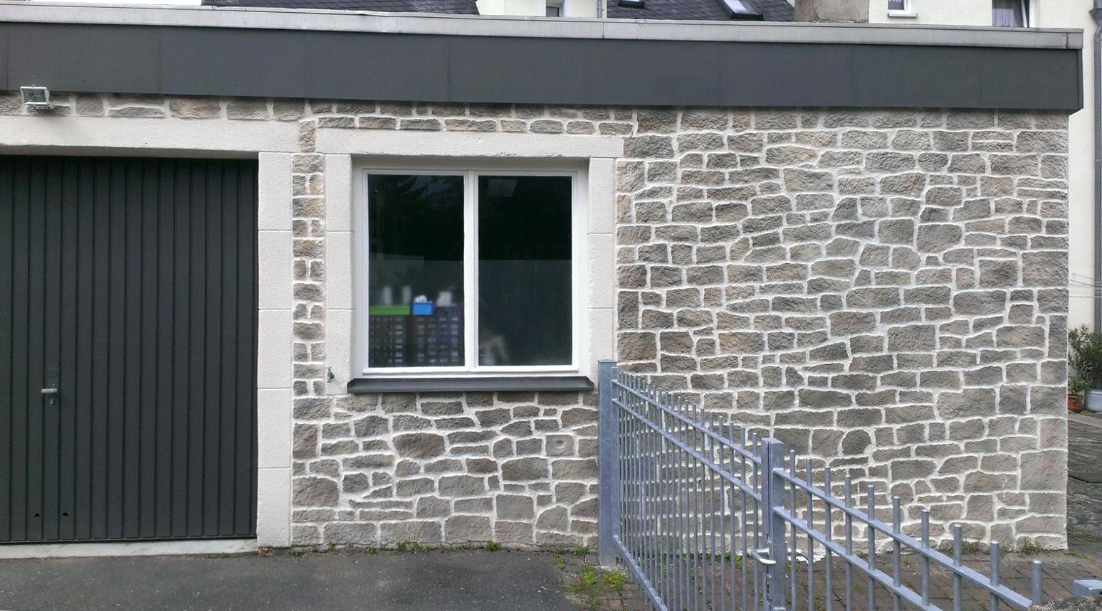 Fassadengestaltung steinoptik  Malerbetrieb - Firma Thumser