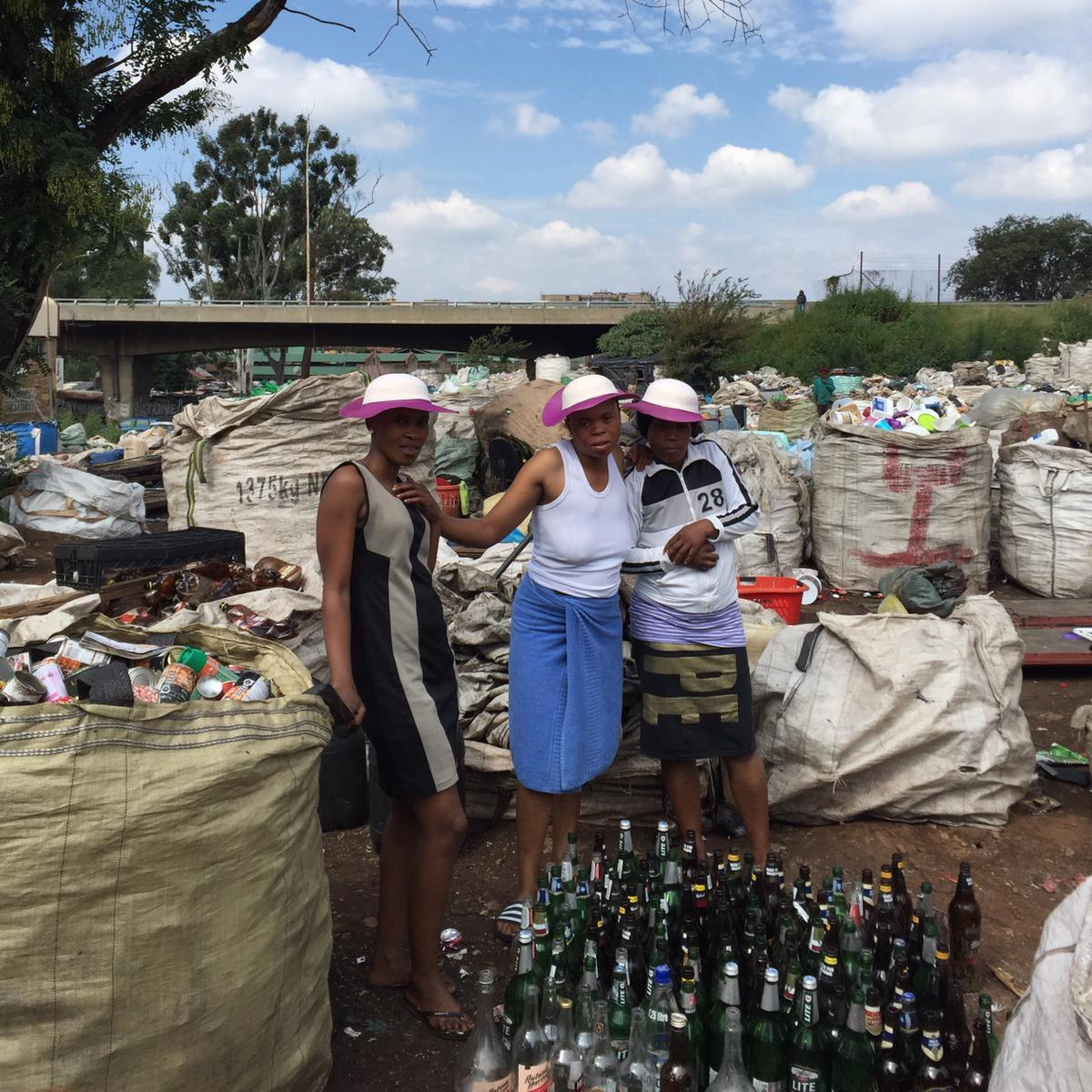 Waste pickers in Johannesburg