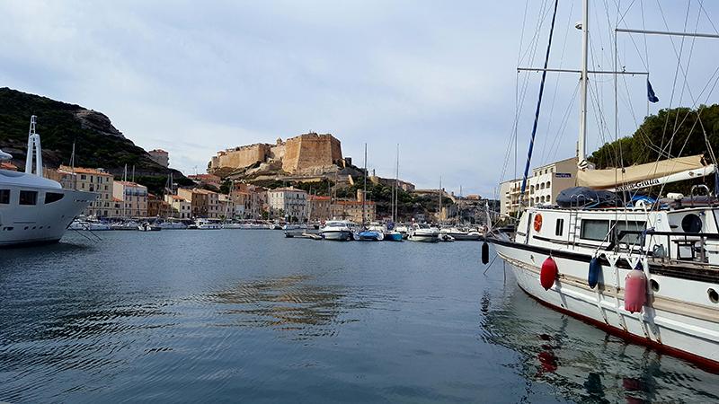 Bonifacio depuis le port