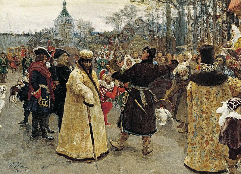 La conquista de Siberia. Surikov.