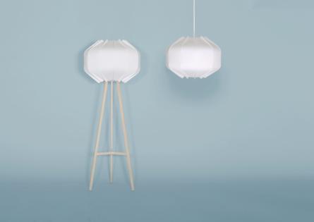 Leuche Lumia Lampe Holz