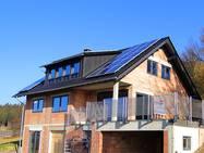 Einfamilienhaus mit Energiegeländer Railing