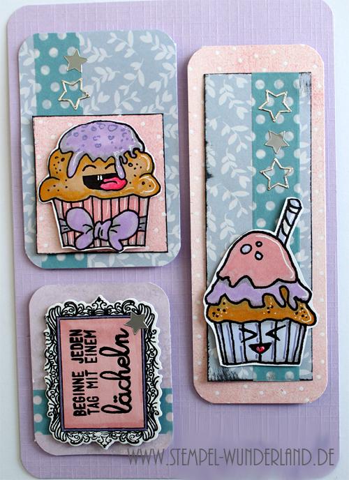 Cupcake Muffin Digi Stamp DIgitaler Stempel Card Candy Embellishment Süßigkeit von www.stempel-wunderland.de