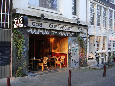 Coffeeshop Weedshop Goa Amsterdam