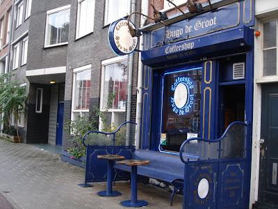 Coffeeshop Weedshop Hugo De Groot Amsterdam