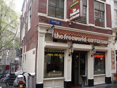 Coffeeshop Weedshop The Freeworld Amsterdam