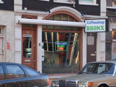 Coffeeshop Bronx Amsterdam