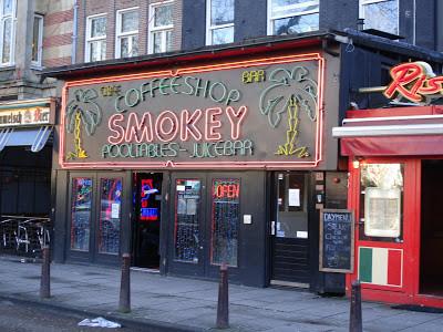Coffeeshop Weedshop Smokey Amsterdam