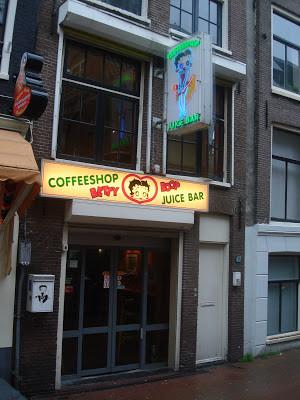 Coffeeshop Weedshop Betty Boop Amsterdam