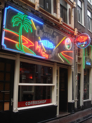 Coffeeshop Weedshop Highway Amsterdam