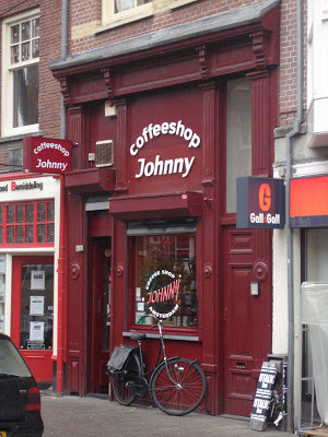 Coffeeshop Weedshop Johnny Amsterdam