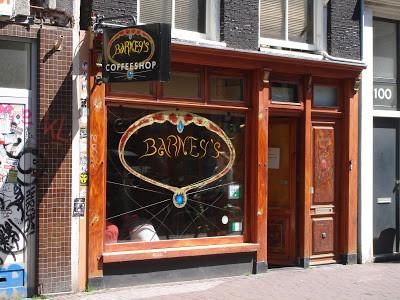 Coffeeshop Barney's Amsterdam