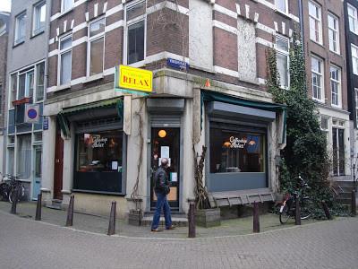 Coffeeshop Weedshop Relax Amsterdam