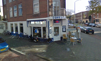 Coffeeshop Cannabis Café Blue White Den Haag (The Hague)