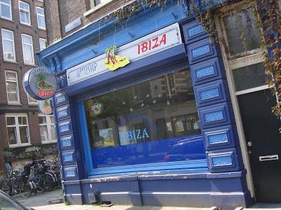 Coffeeshop Weedshop Ibiza Amsterdam