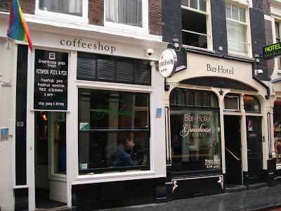 Coffeeshop Weedshop Greenhouse Effect Amsterdam