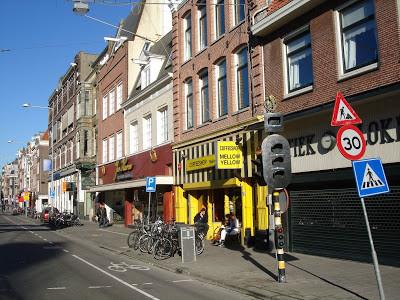 Coffeeshop Weedshop Mellow Yellow Amsterdam
