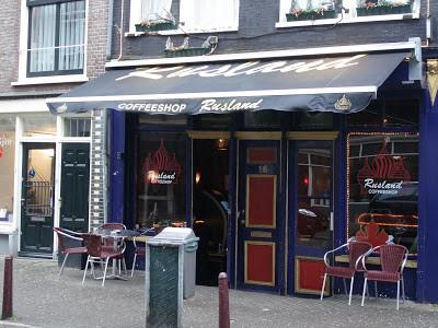 Coffeeshop Weedshop Rusland Amsterdam