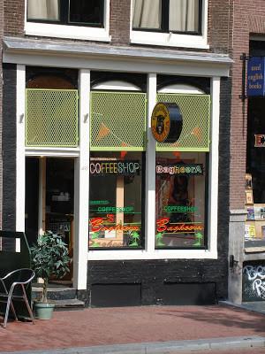 Coffeeshop Weedshop Bagheera Amsterdam
