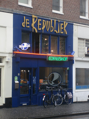 Coffeeshop Weedshop De Republiek Amsterdam
