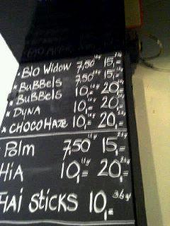 prices coffeeshop demo the hague