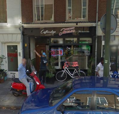 Coffeeshop Cannabis Café Meneer Jansen Den Haag (The Hague)