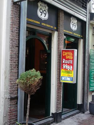Coffeeshop Weedshop Route 99 Amsterdam