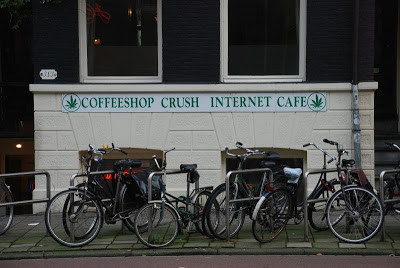 Coffeeshop Weedshop Crush Amsterdam