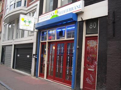 Coffeeshop Weedshop Mediterrane Amsterdam
