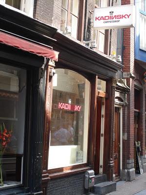 Coffeeshop Weedshop Kadinsky Cum Laude Amsterdam