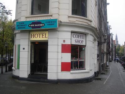 Coffeeshop Weedshop Voyagers Amsterdam