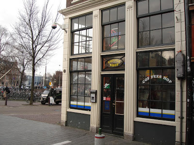 Coffeeshop Weedshop Hollywood Amsterdam