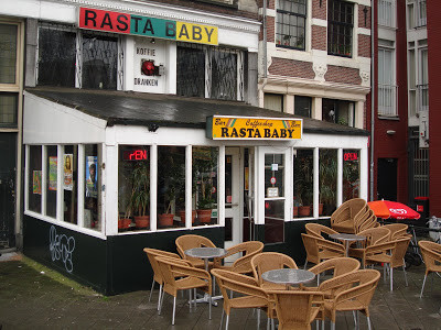 Coffeeshop Weedshop Rasta Baby Amsterdam