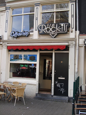 Coffeeshop Weedshop Rock-It Amsterdam