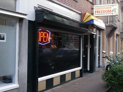 Coffeeshop Weedshop Freedom Amsterdam