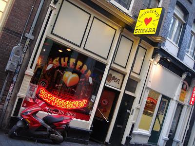 Coffeeshop Weedshop Sheeba Amsterdam