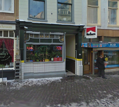 Coffeeshop Cannabis Café Spaceball Den Haag (The Hague)