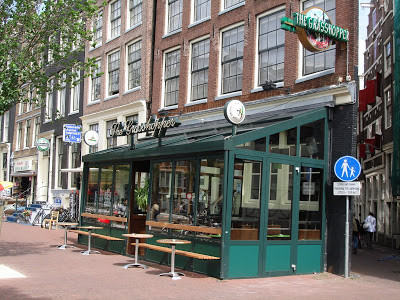 Coffeeshop Weedshop The Grasshopper Amsterdam