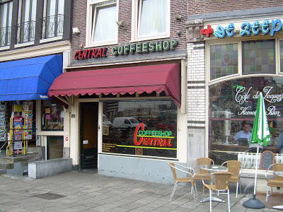Coffeeshop Weedshop Central Amsterdam